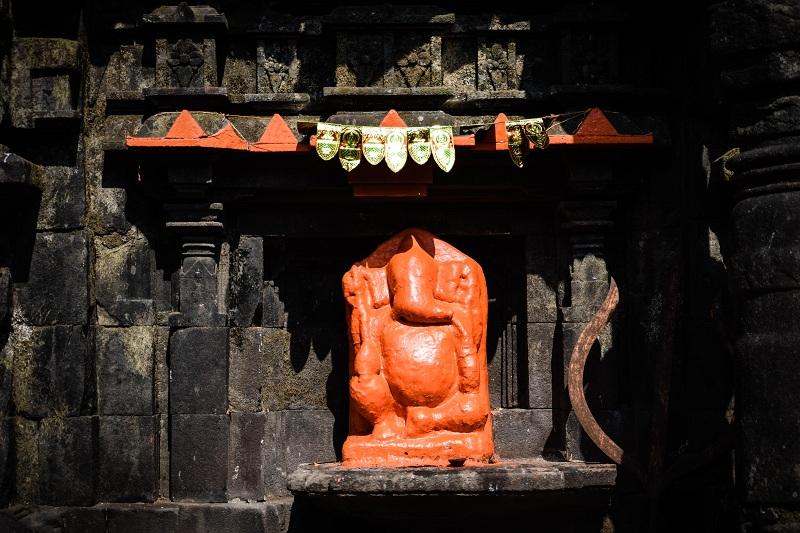 Harishchandragad Ganesha idol