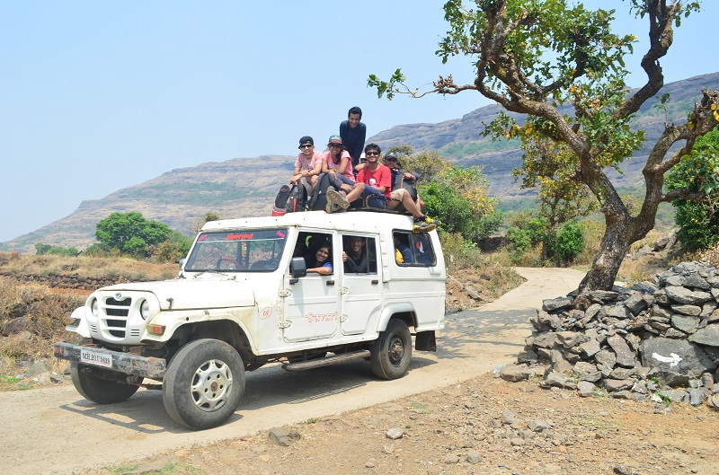 Harishchandragad Jeep ride to Kasara