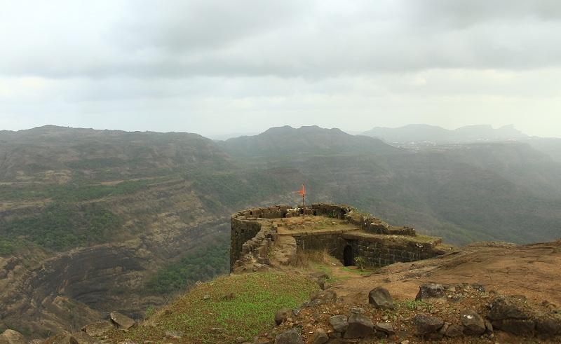 rajmachi shreevardhan view