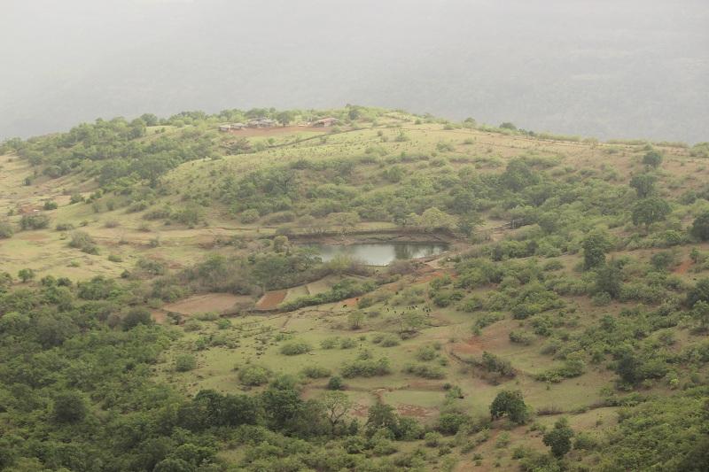 Rajmachi view lake