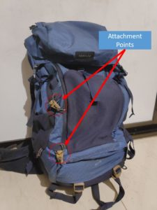 Backpack Attachment Points