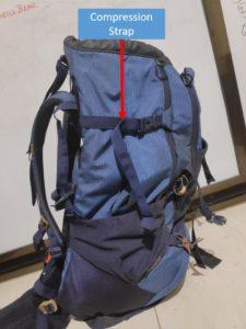 Backpack Compression Strap