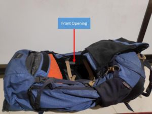Backpack Front Loading