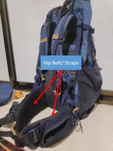 Backpack Hip Belt/Straps