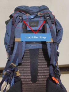 Backpack Load Lifter Strap