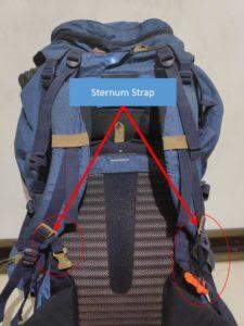 Backpack Sternum Straps