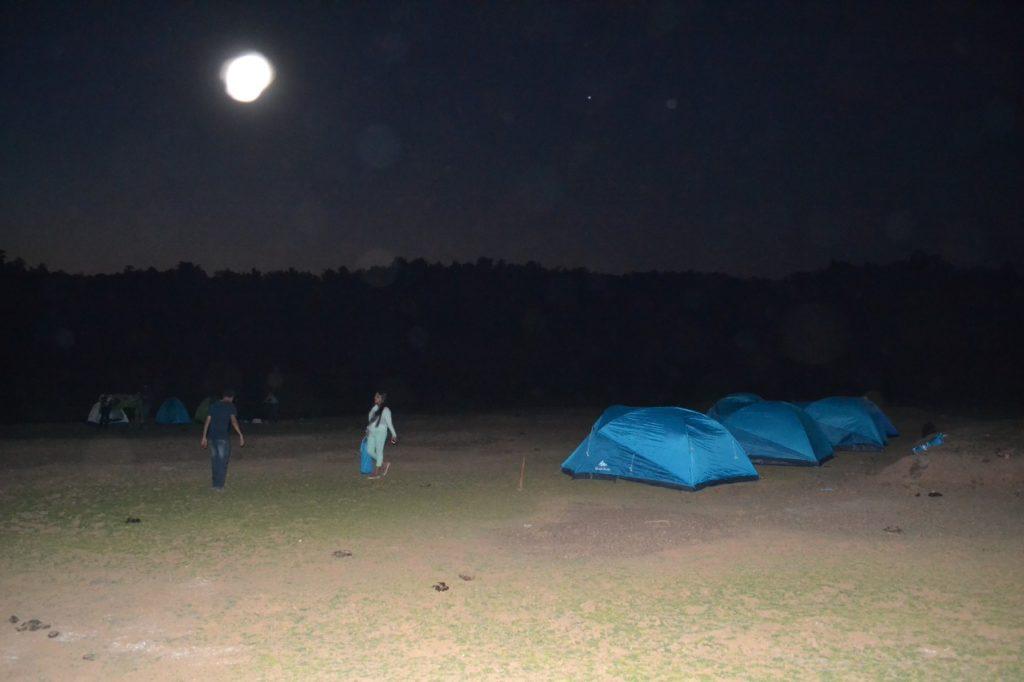 Bhivpuri Dhom Dam Camping Night